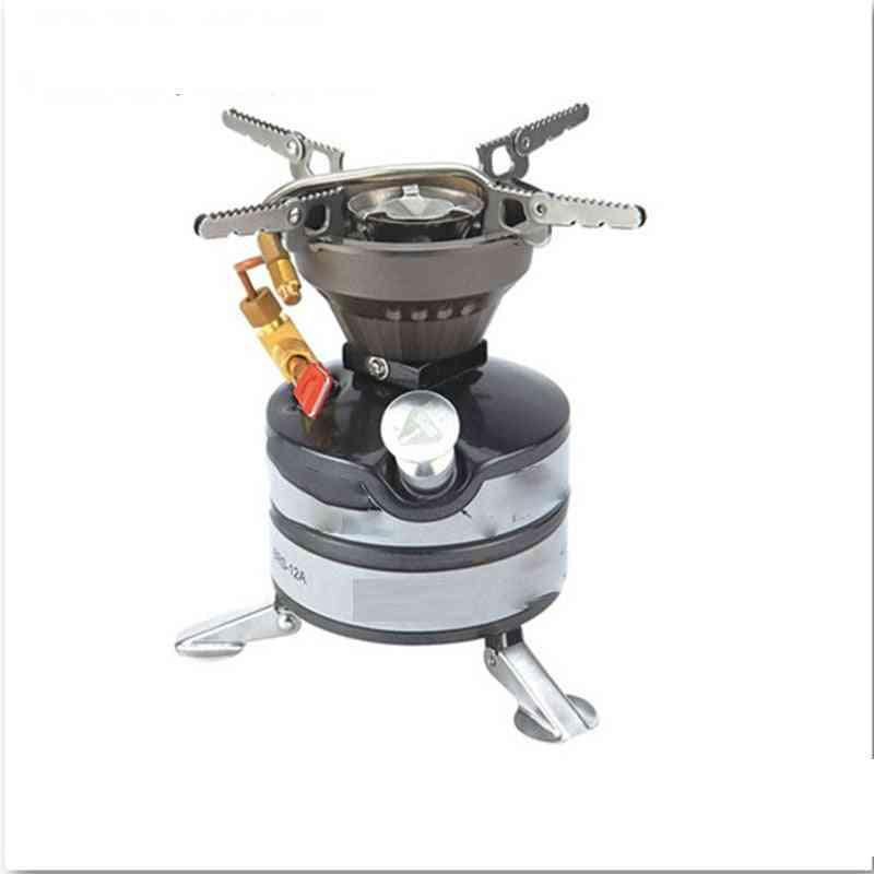 Portable Wind Proof Gasoline Stove Outdoor Camping Head Field Picnic Cooker