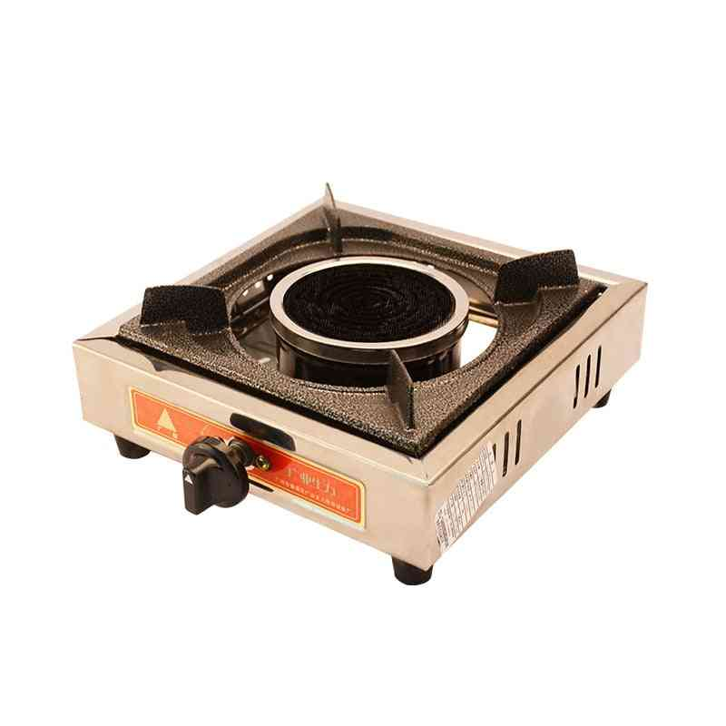 Steel Square Oven Infrared Energy Saving Gas Stove Hot Pot