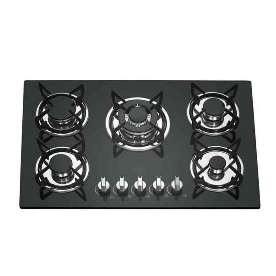Glass Panel Multi-eye Five-eye Gas, Fire Stove