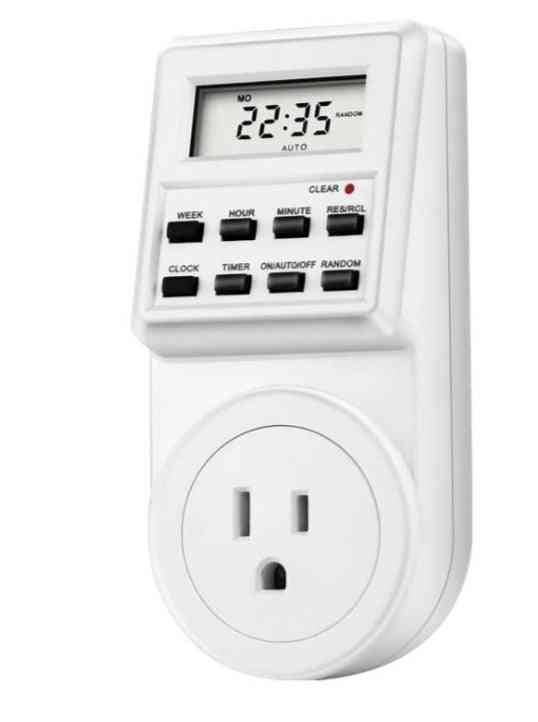 Digital Weekly Programmable Electrical Wall Plug-in Power Socket