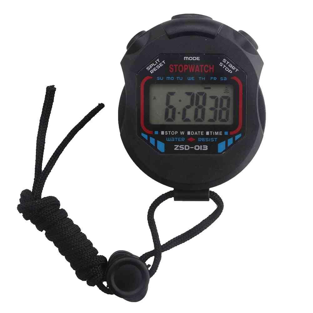 Handheld Digital Lcd, Sports Counter Stopwatch