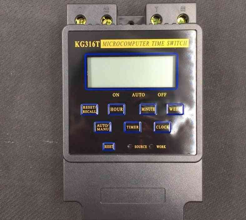 Intelligent Microcomputer Programmable Electronic Timer Switch