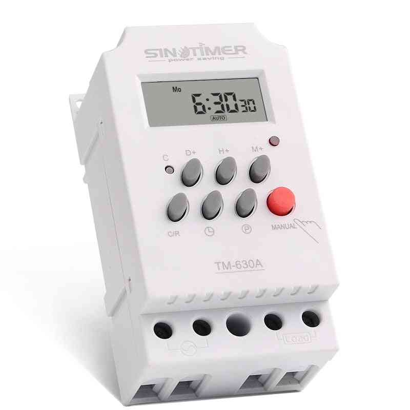 7 Days Programmable  Mini Timer Switch