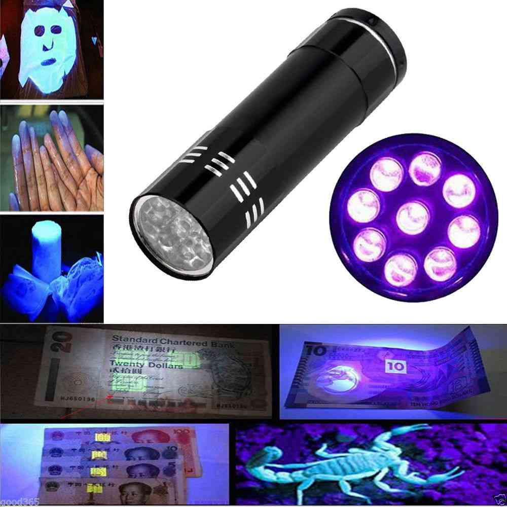 Multi-functional Cash Checker Ultra Violet Flashlight
