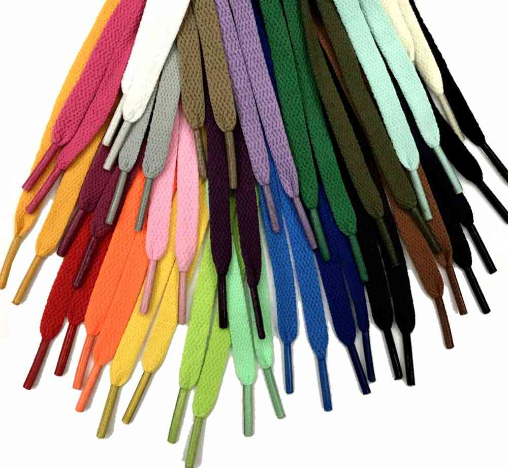 Flat Shoelaces For Sneakers Sports Shoes