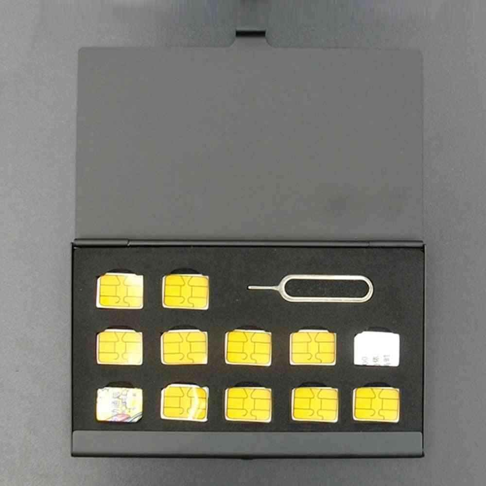 Universal Protector Case, Memory Sim Card Storage Box