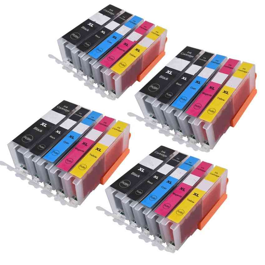 Pgi470 Pgi-470 Bk 470 C Li 471 Ink Cartridge For Canon Printer