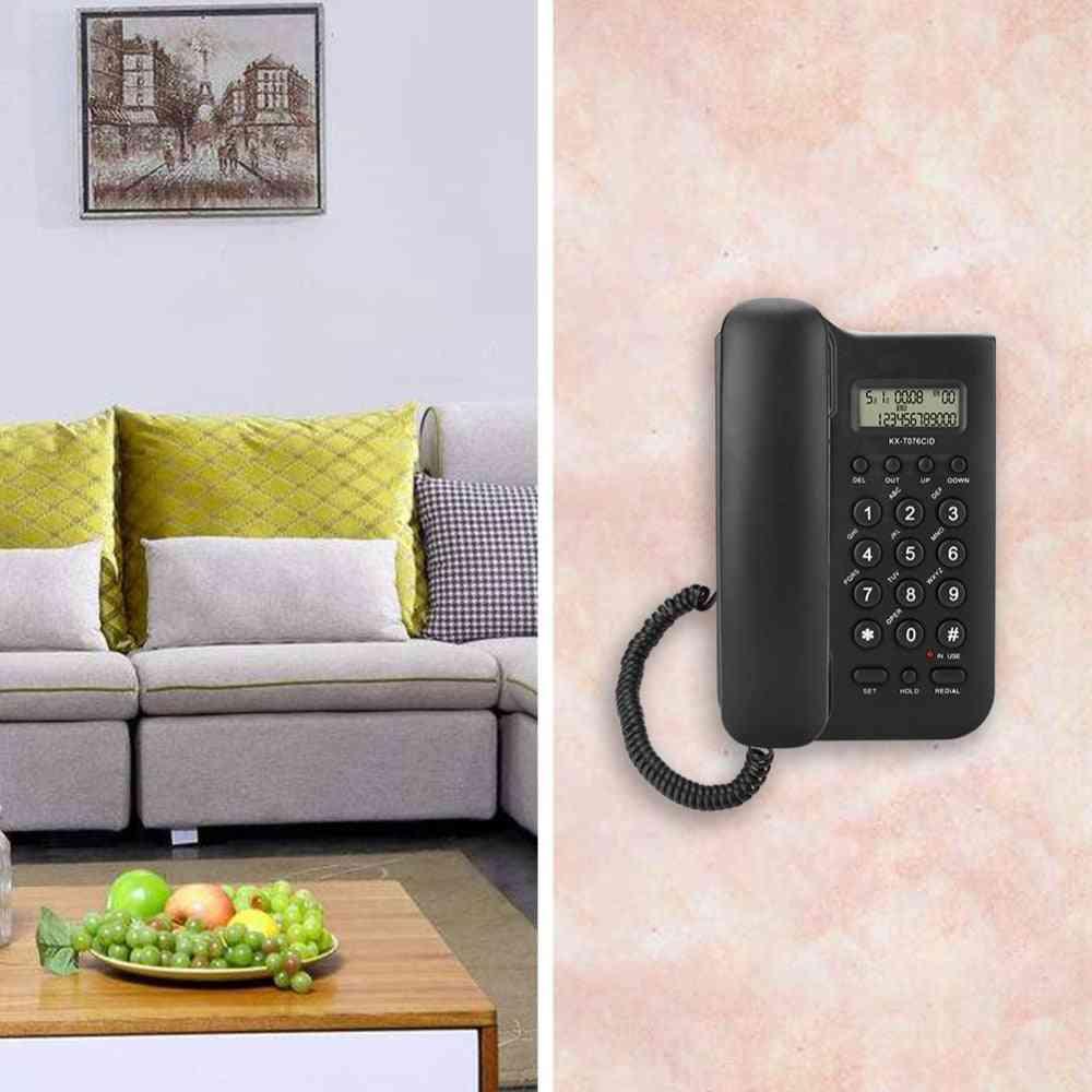 Kx-t076 Home Hotel Wired Desktop Wall Phone Office Landline Telephone