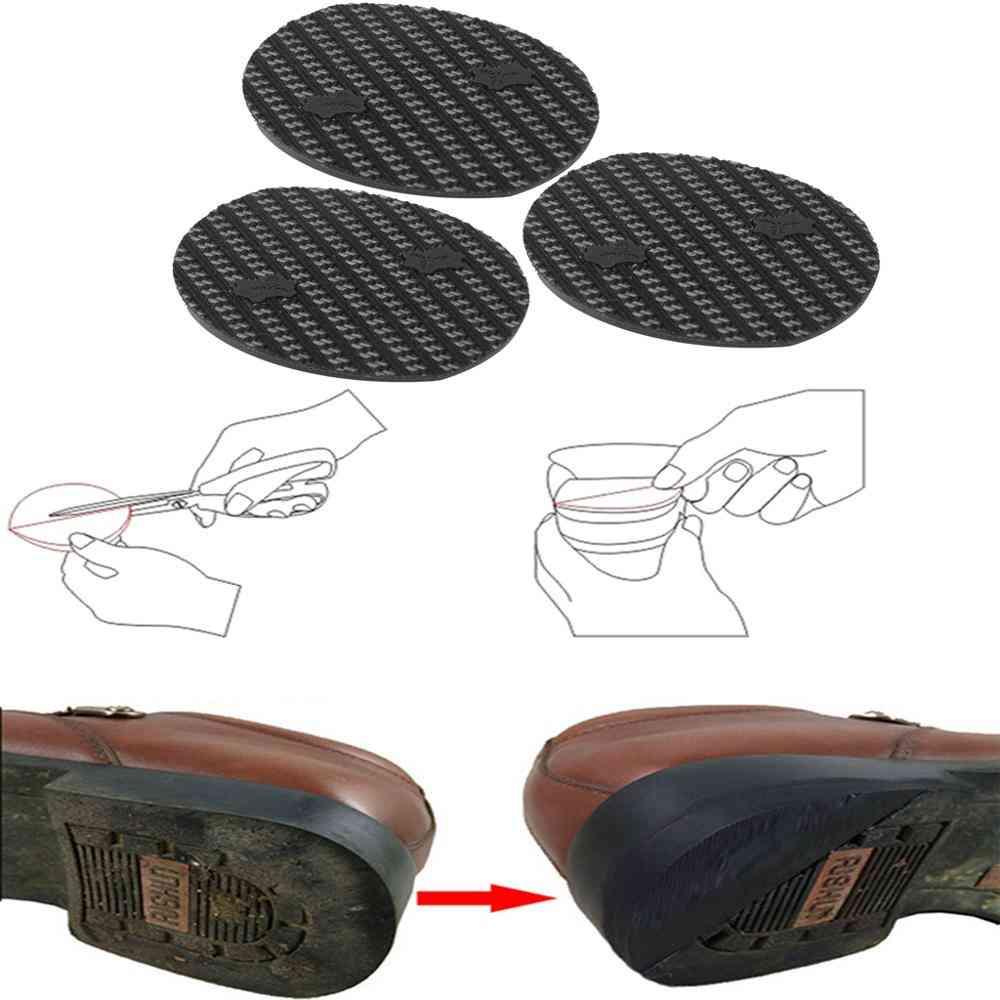 Anti Slip Diy Thicken Rubber Outsole Heel Soft Repair Pad
