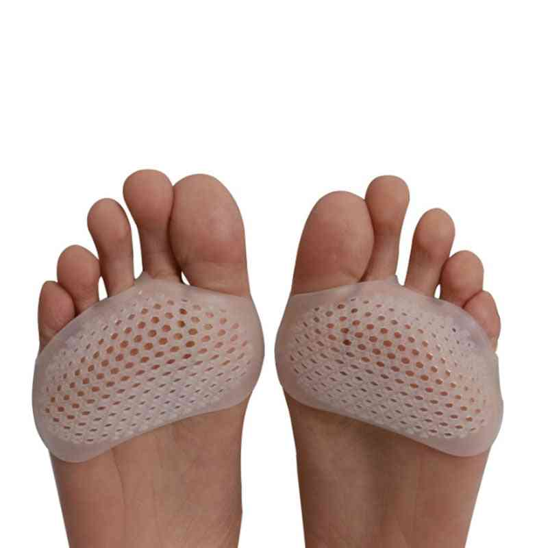 Silicone Soft Pads Heel Shoes Slip Resistant Protect Pain Relief Foot Care Invisible Gel