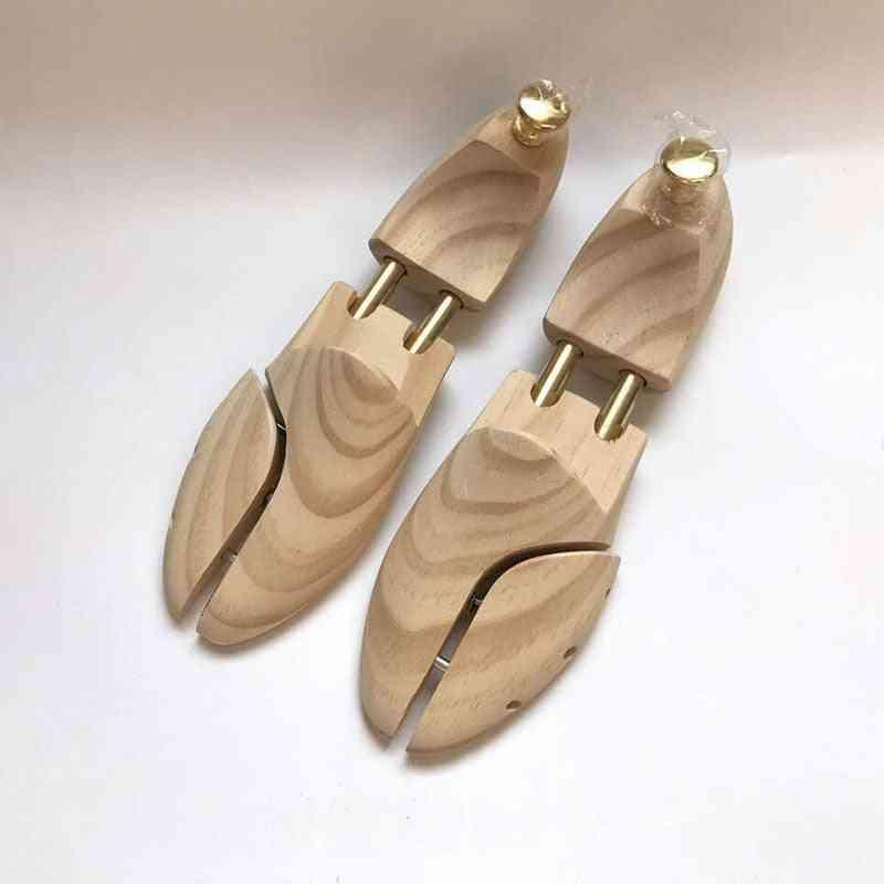 Twin Tube High Solid Wood Spring Adjustable Shoe Shaper