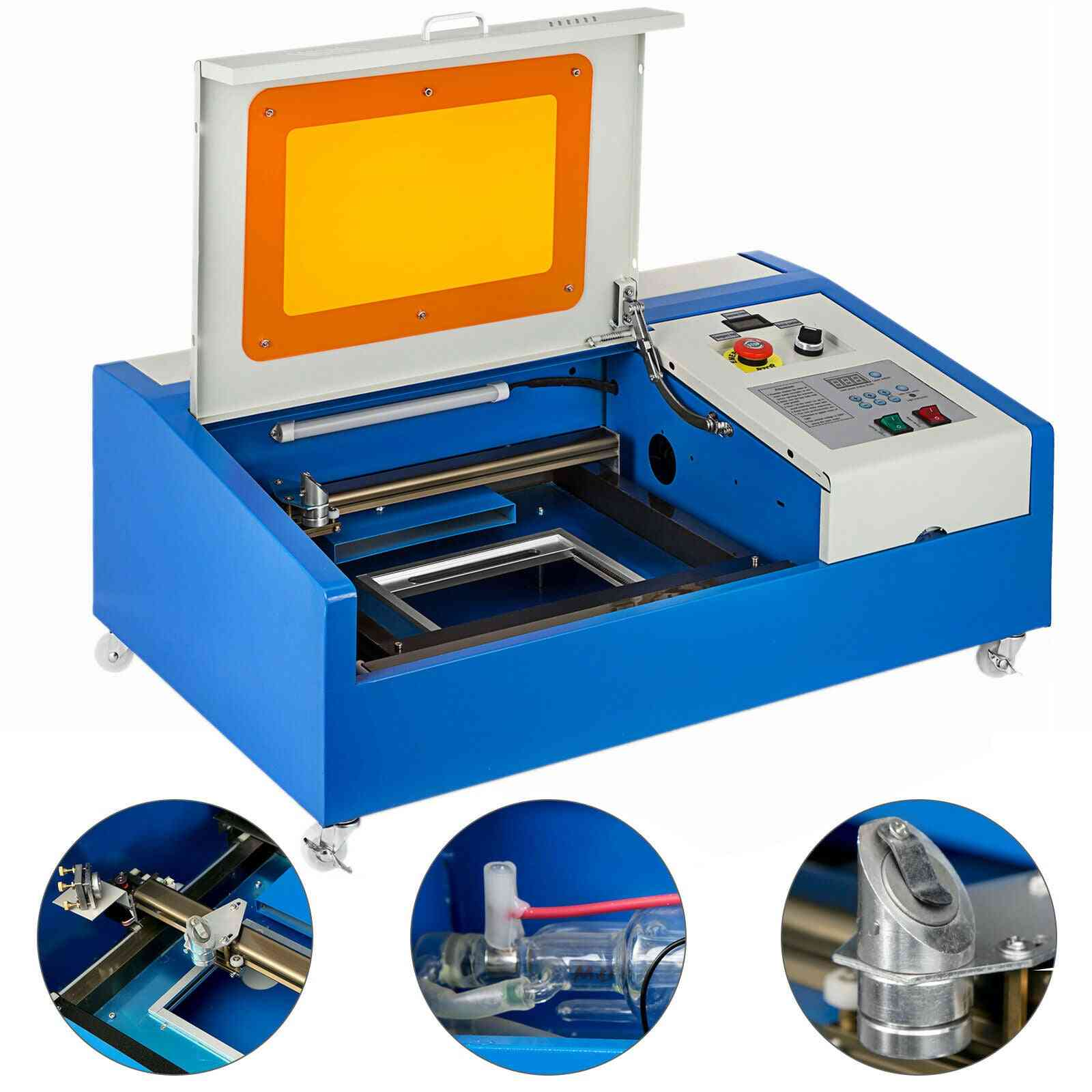Upgrade Version Co2 Usb Laser Cutter Cutting Engraving