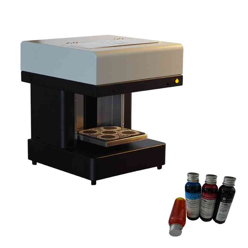 3d Inkjet Cup Coffee Printer Machine, Cake Printer - All-in-one
