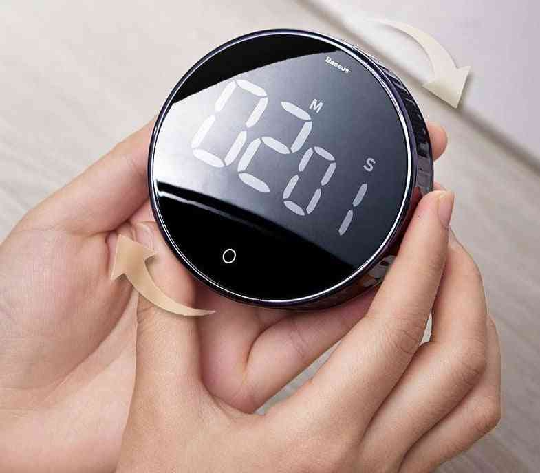 Baseus Magnetic Digital Timers Manual Countdown Kitchen Timer (without Battery)