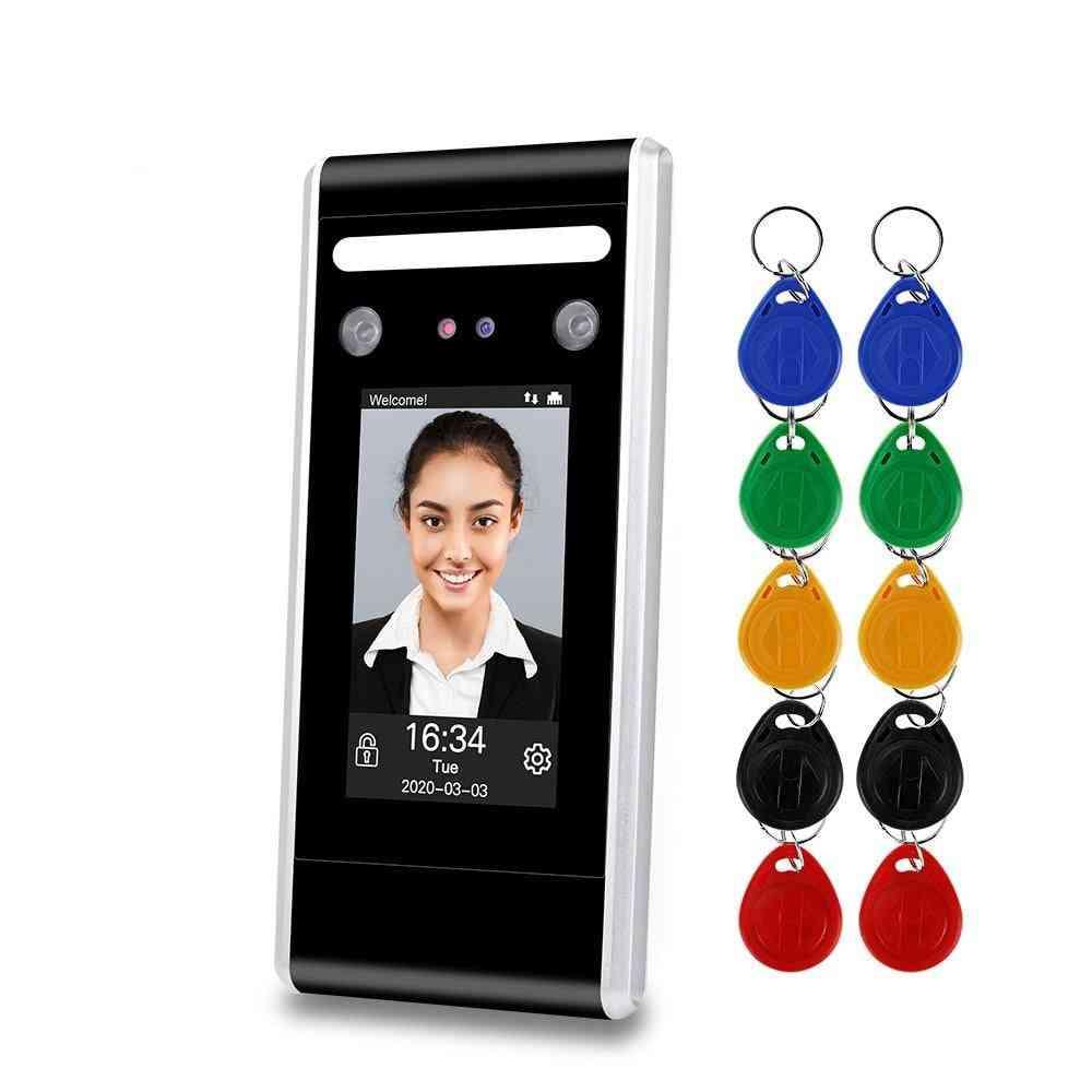 Wifi Dynamic Time Attendance Machine, Biometric Ir Face Recognition Keypad