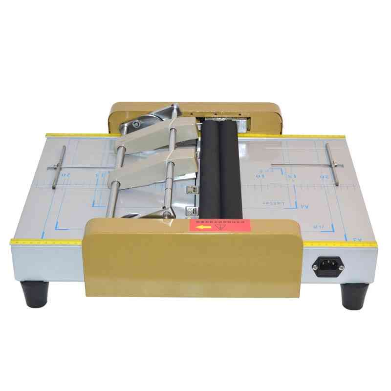 Paper Creasing / Card Folding Electric Machines, Color Pages Dashed Machine