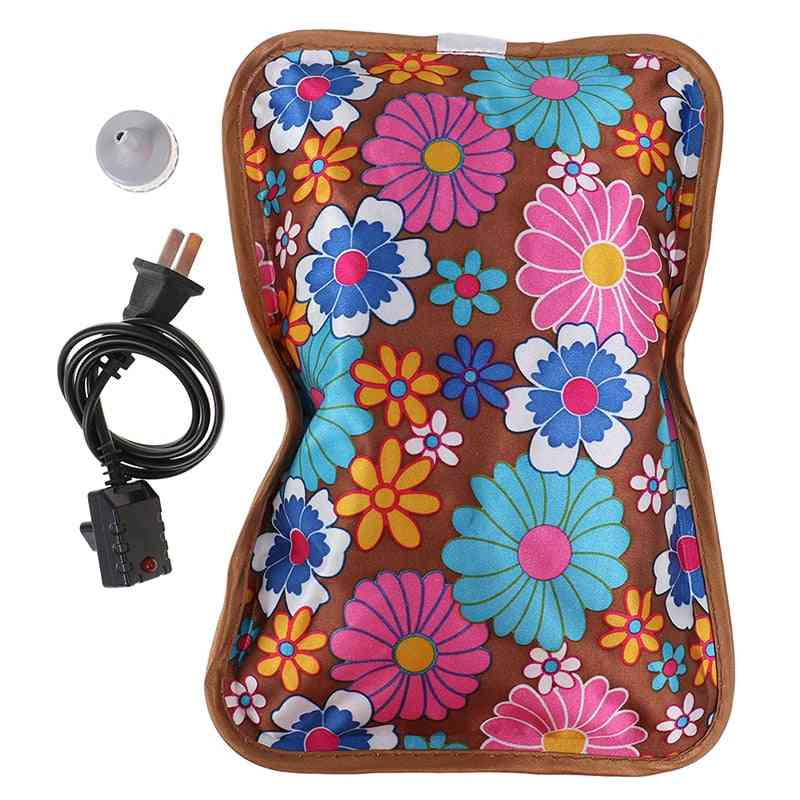 Rechargeable Electric Hot Water Bottle, Hand Warmer Heater Bag For Winter