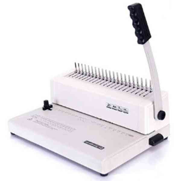 A4 Manual Bookbinding, Punching / Rubber Ring Clamp Binding Machine
