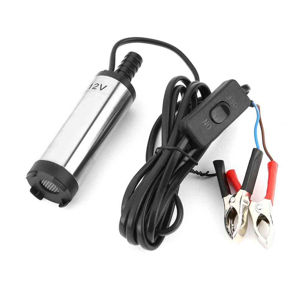 Electric Fuel Transfer Water Oil Refueling Submersible Pump