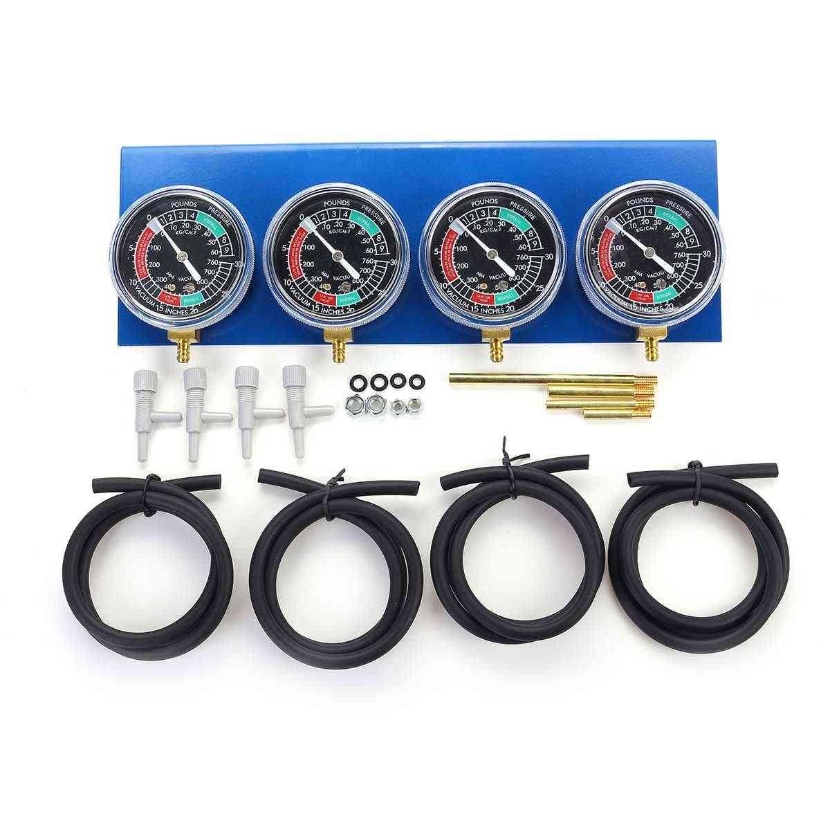 Motorcycle Carburetor Vacuum Gauge Balancer Synchronizer Tool