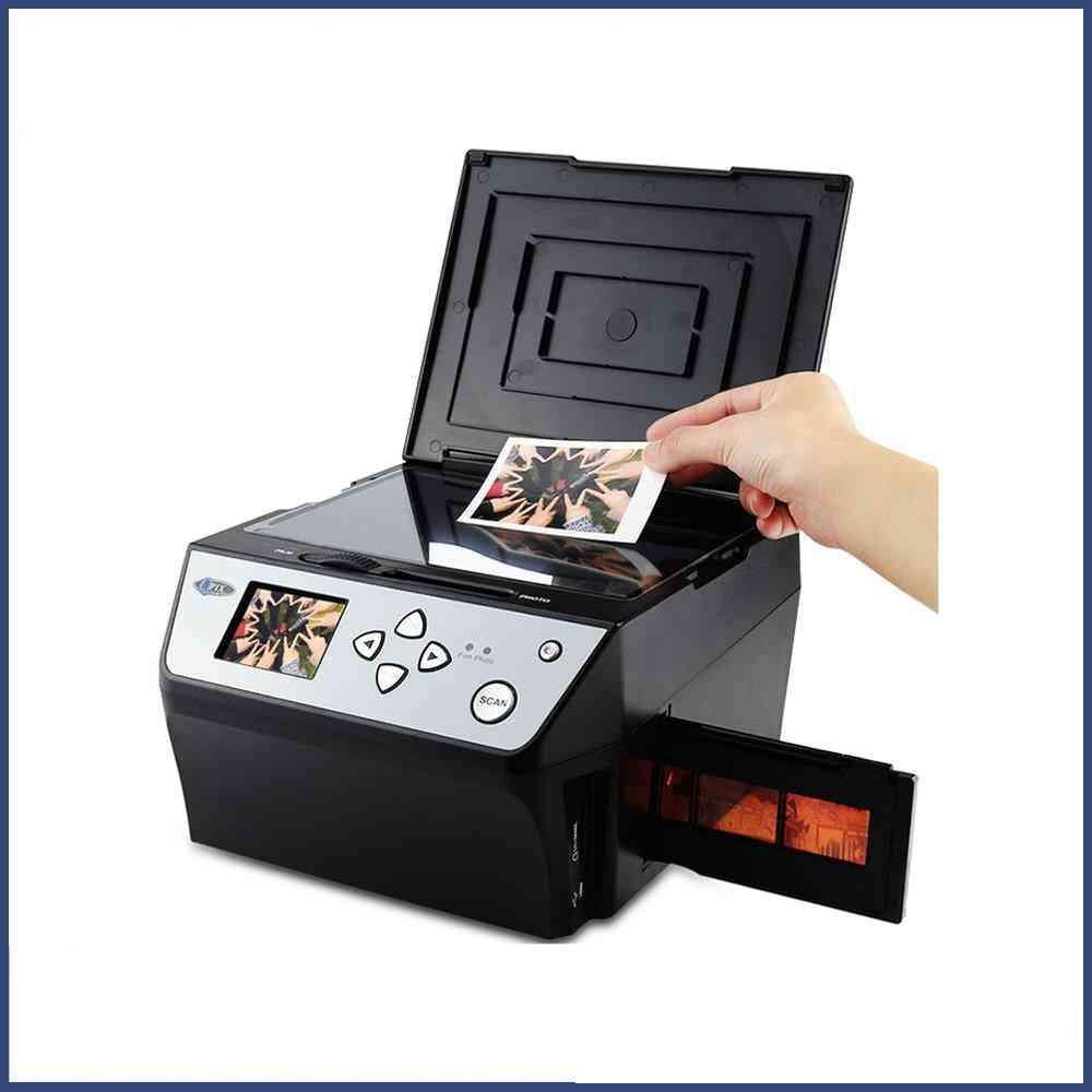22 Mega Pixels 4 In 1- Multi-function Digital Photo/film Scanner