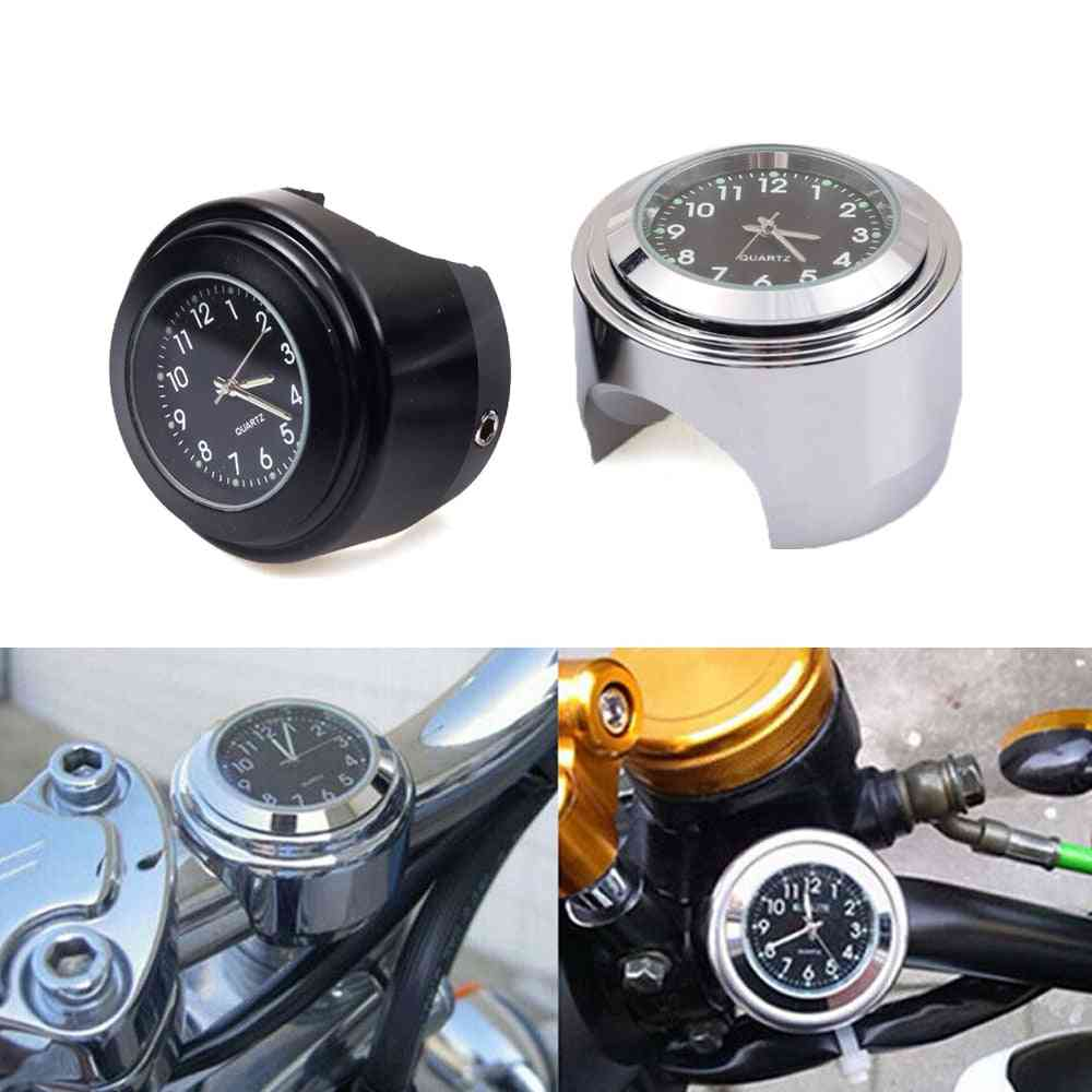 Handlebar Mount Clock Watch, Waterproof For Motorcycle