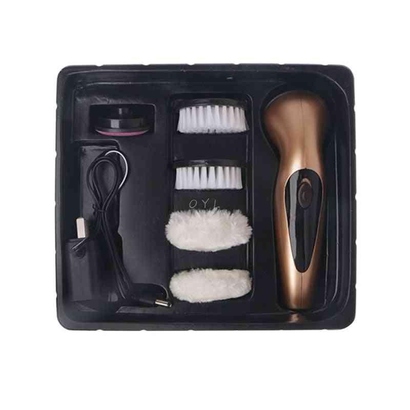 Portable Automatic Handheld Electric Shoe Brush