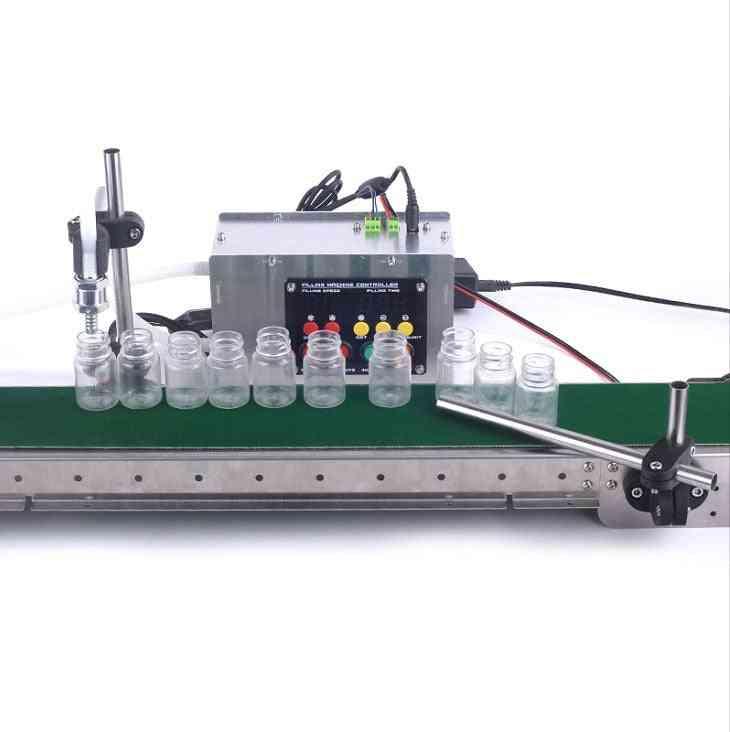 Automatic Conveyor Belt, Single Head Liquid Filling Machine