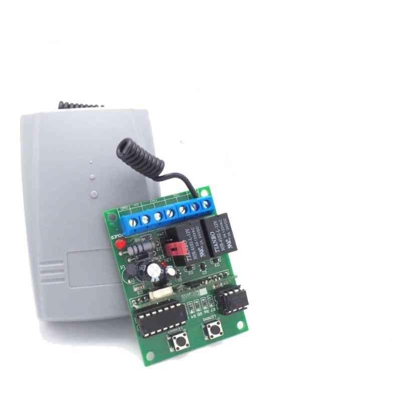 2-channel Wireless Garage Door Rolling Code Receiver With Open Code