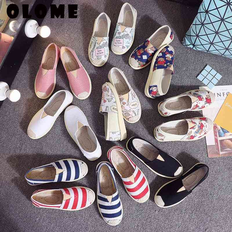 Women Sneakers Spring Casual Single Lazy Shoes