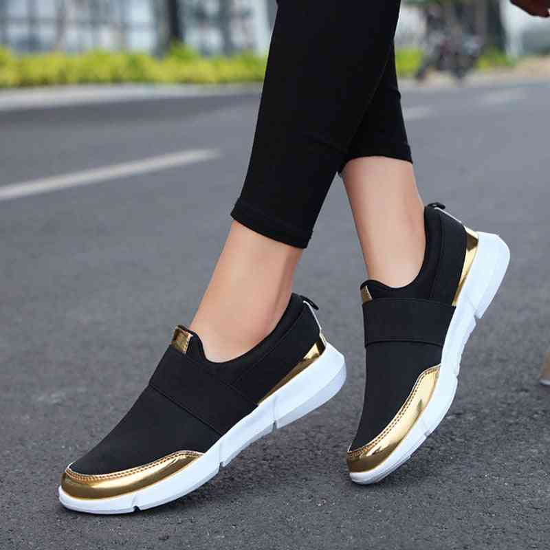 Women Slip On Loafers Ladies Casual Comfort Flats Shoes