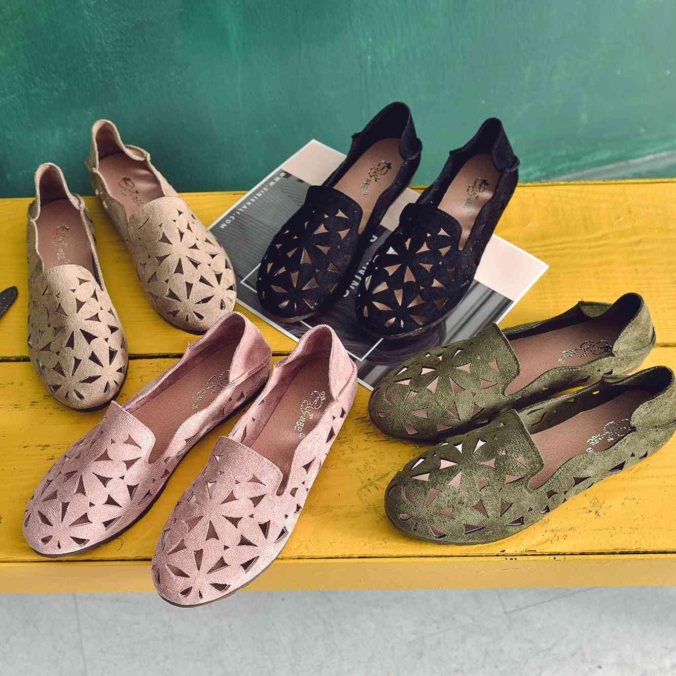 Summer Women Flat Shoes Soft Casual Loafers Footwear