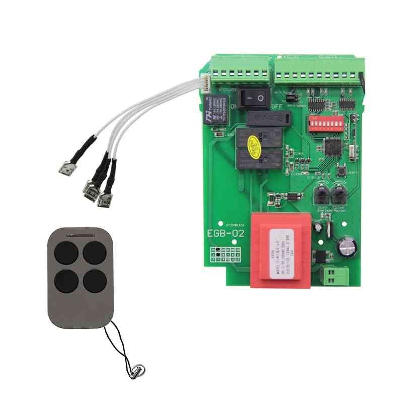 Sliding Gate Opener Control Board & Motor Control Panel For Automatic Door Controller