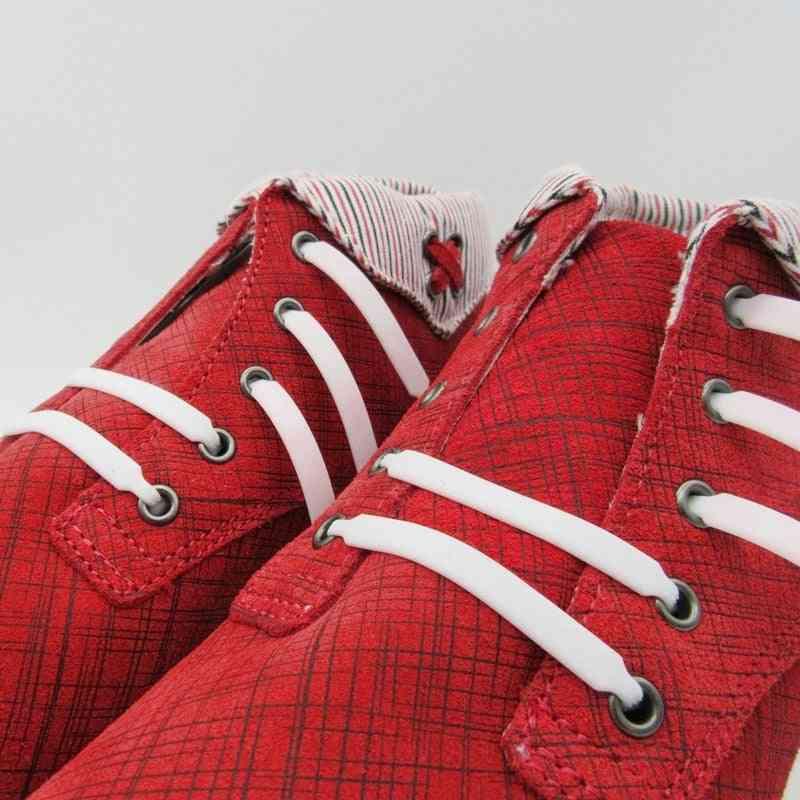 Silicone Shoelaces Elastic Creative Lazy Laces No Tie Rubber Lace