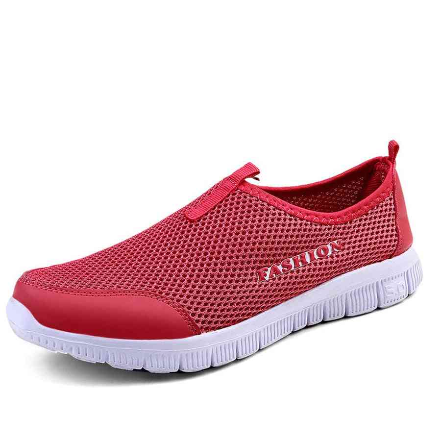 Summer Women Fashion Solid Breathable Lovers Casual Shoes Loafers