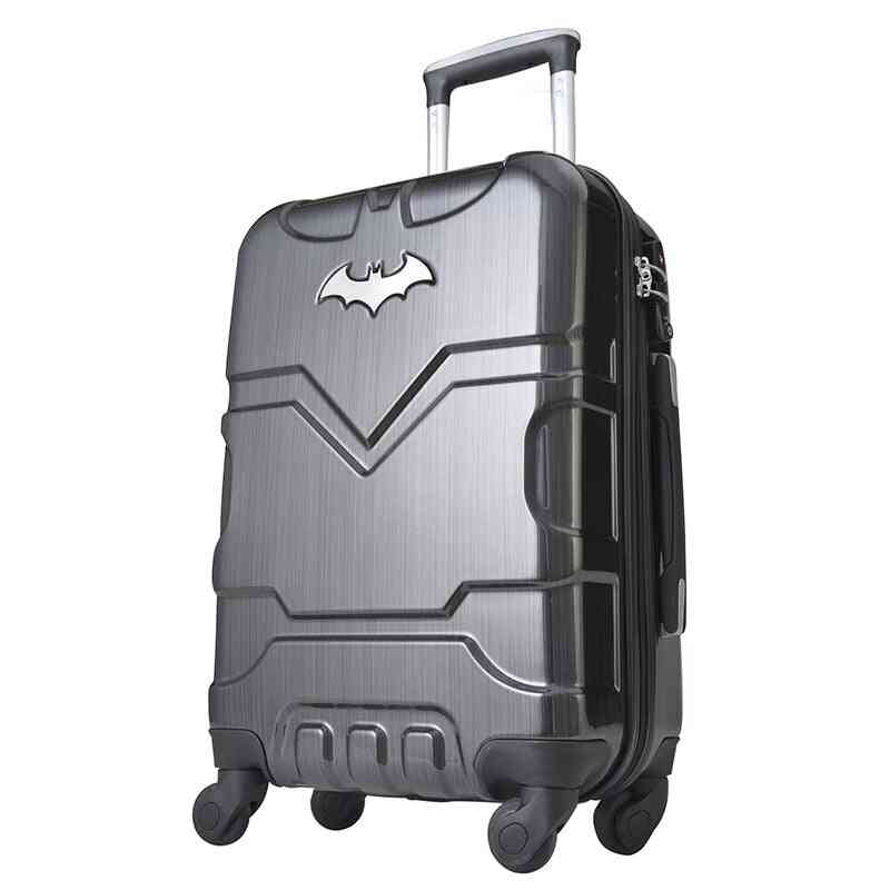 Boarding Password Hard Side Luggage Rolling Trolley, Suitcase