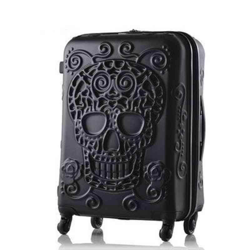 Original 3d Trunk Travel Luggage Suitcase