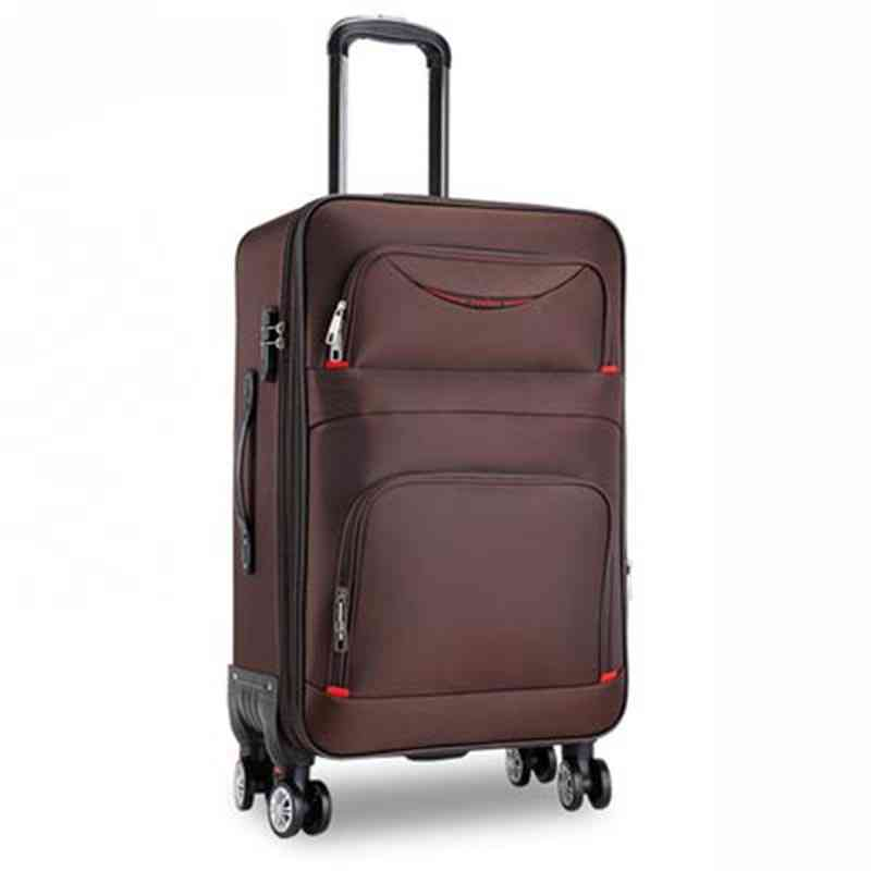 Waterproof Oxford Rolling Luggage Spinner, Business Suitcase