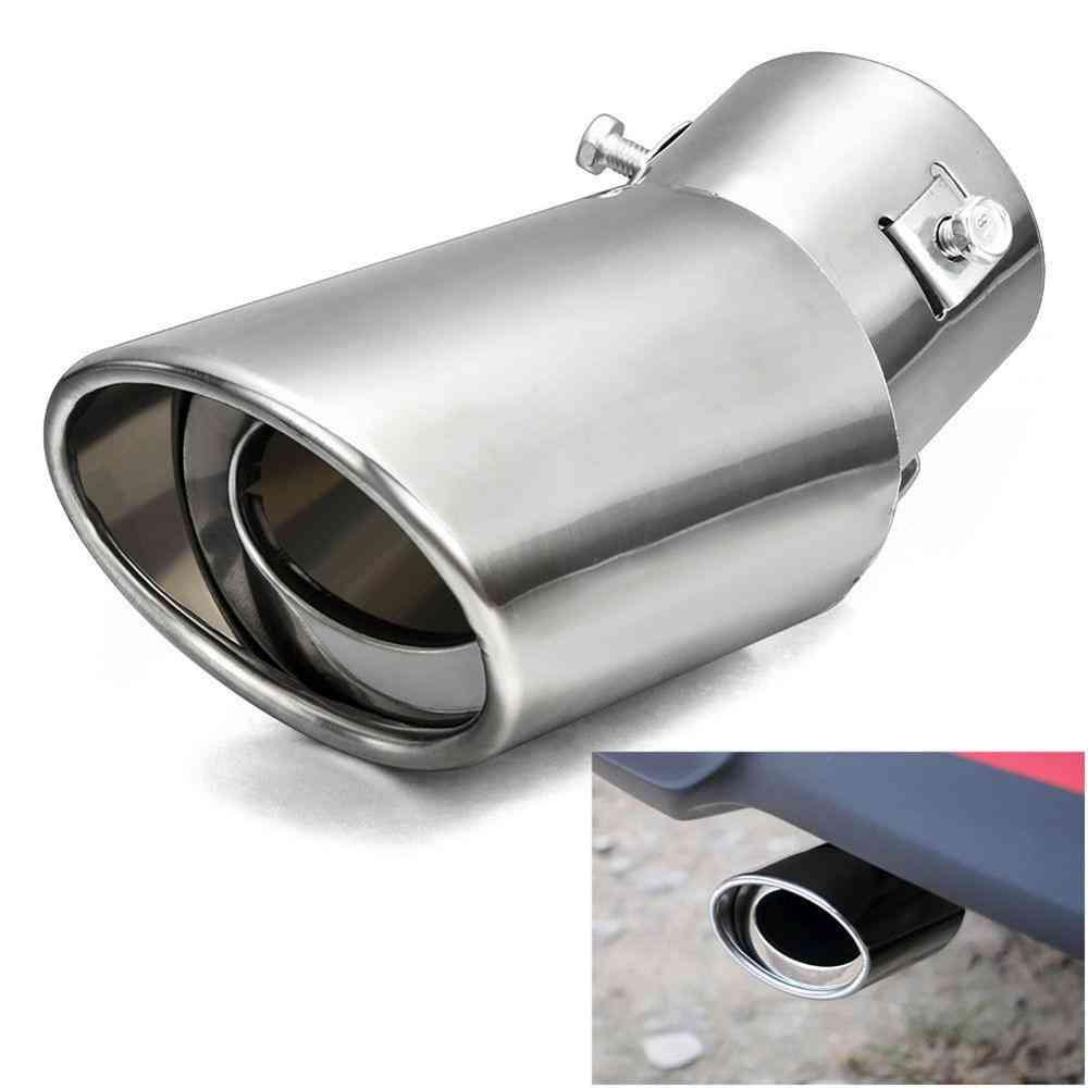 Universal Car Exhaust Muffler Tip Round Tail Pipe