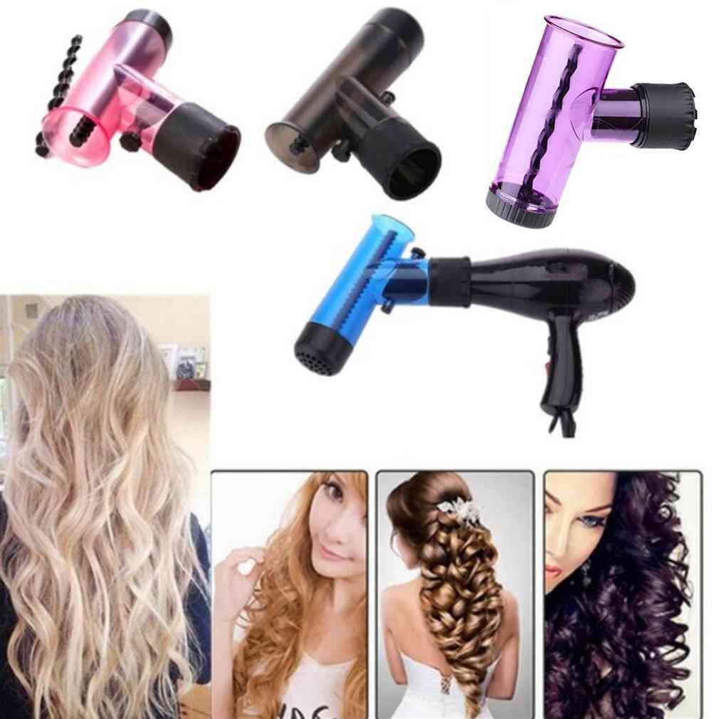 Diy Diffuser Salon Magic Hair Roller Drying Cap Blow Dryer