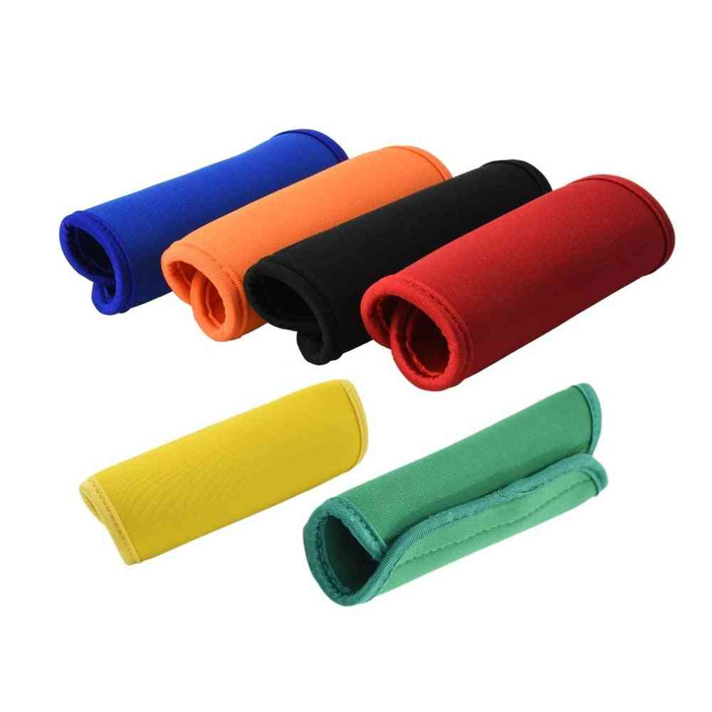 Comfortable Neoprene Luggage Handle Wrap Grip Soft Identifier Stroller Grip Protective Cover