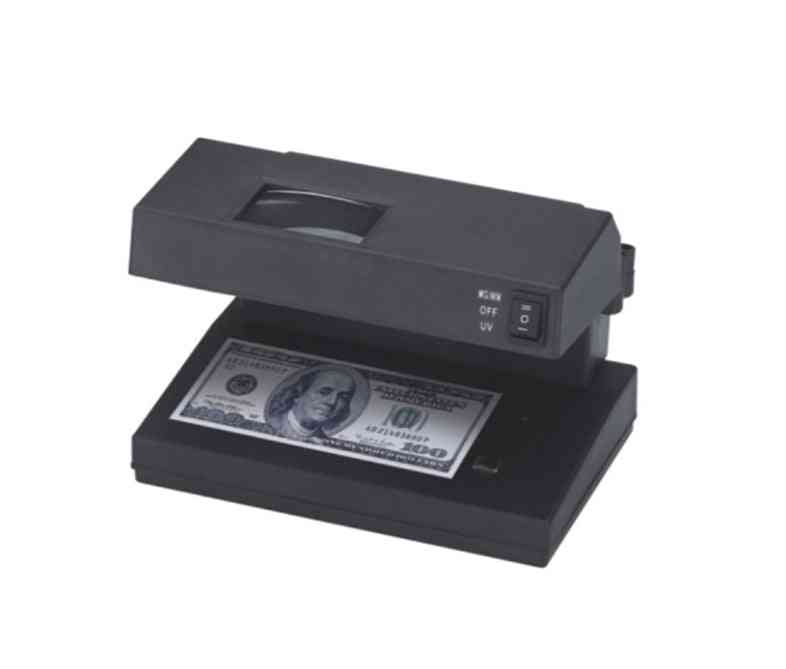 Currency Cash Money Bill Detector With Magnifier Detection Counterfeit Machine
