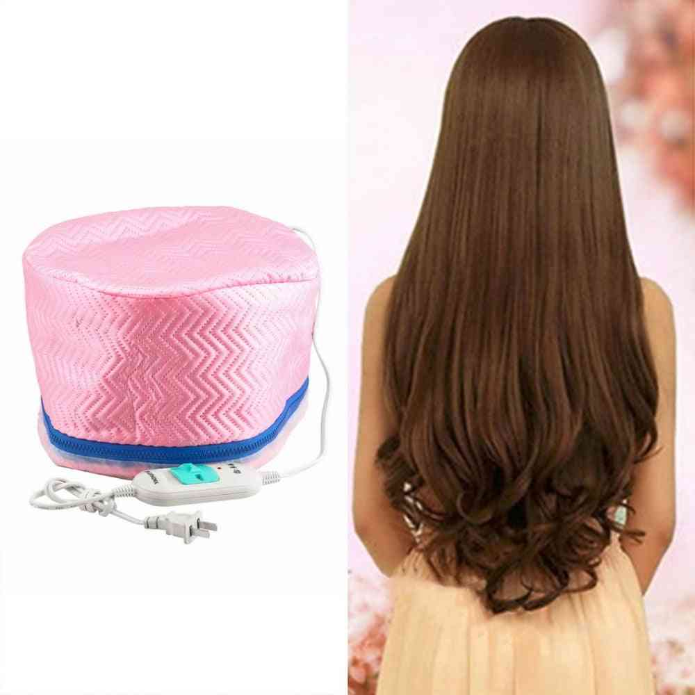 Electric Hair Thermal Beauty Steamer Spa Nourishing Curler Care Cap