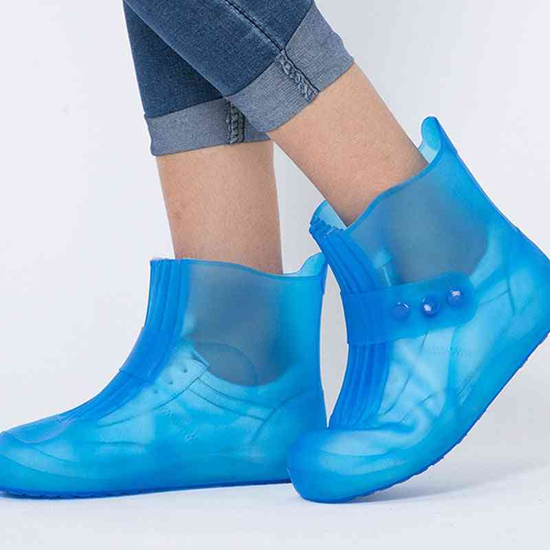Waterproof, Pvc Rubber Boots, Non-slip - Shoes Cover