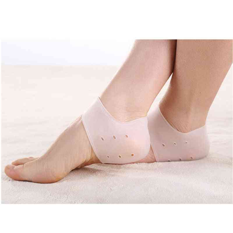 Heel Protector Silicone Pads For Shoe Pain Reduce