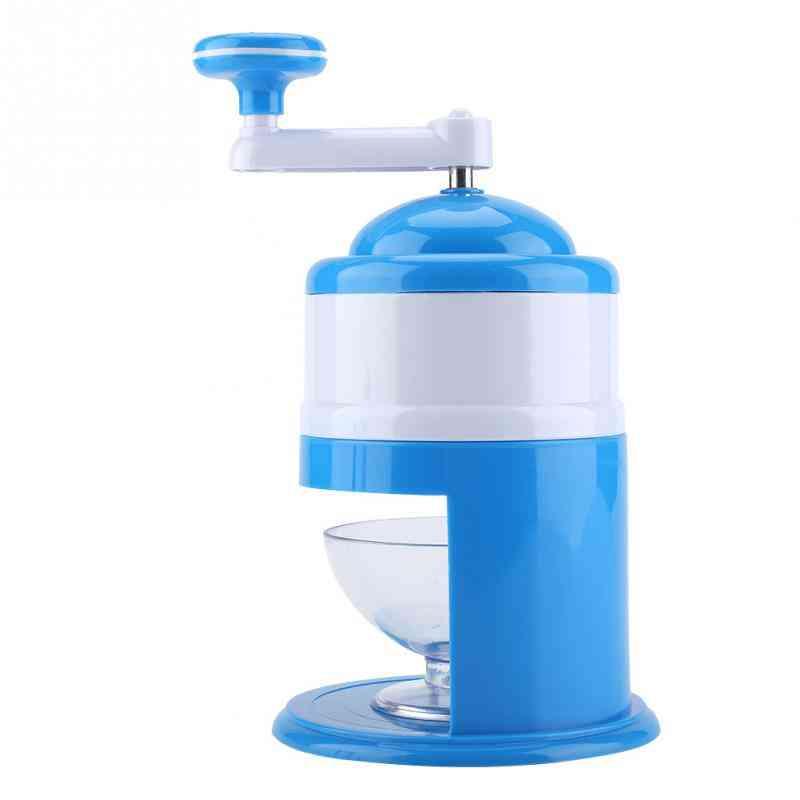 Handle Diy Ice Crusher, Manual, Multifunction, Portable, Slush Maker