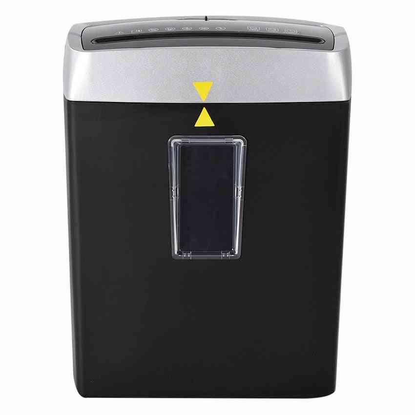 Electric Mute Pulverizer, Mini Household Paper Shredder