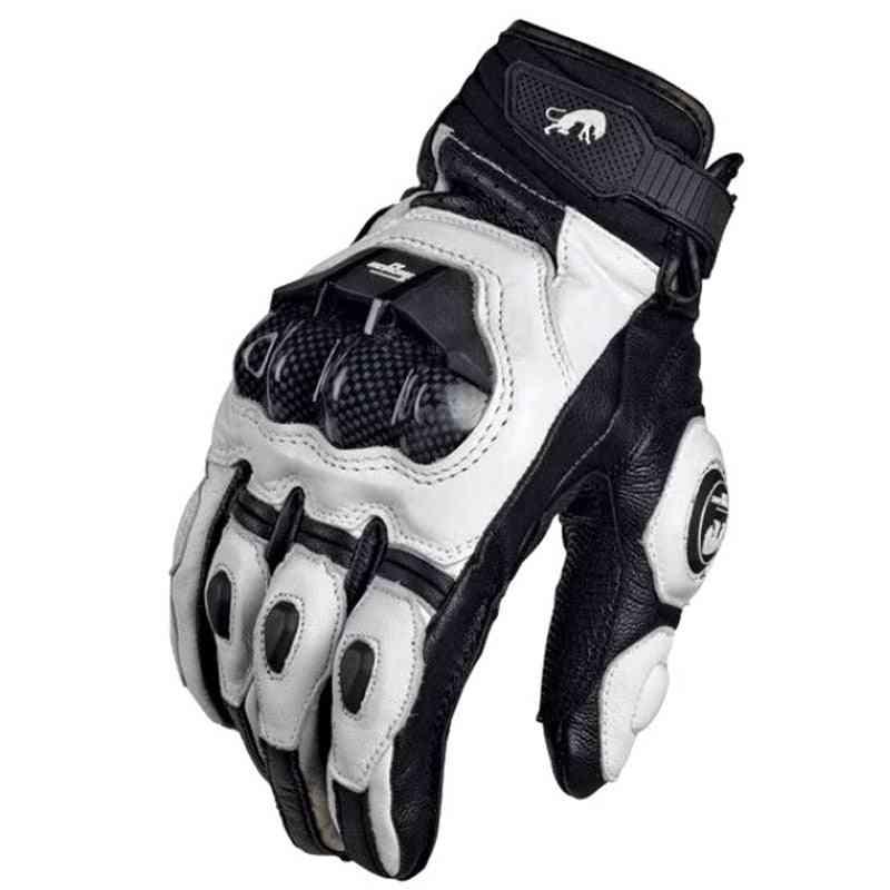 Motorcycle Gloves, Motorbike Road Racing Team Glove