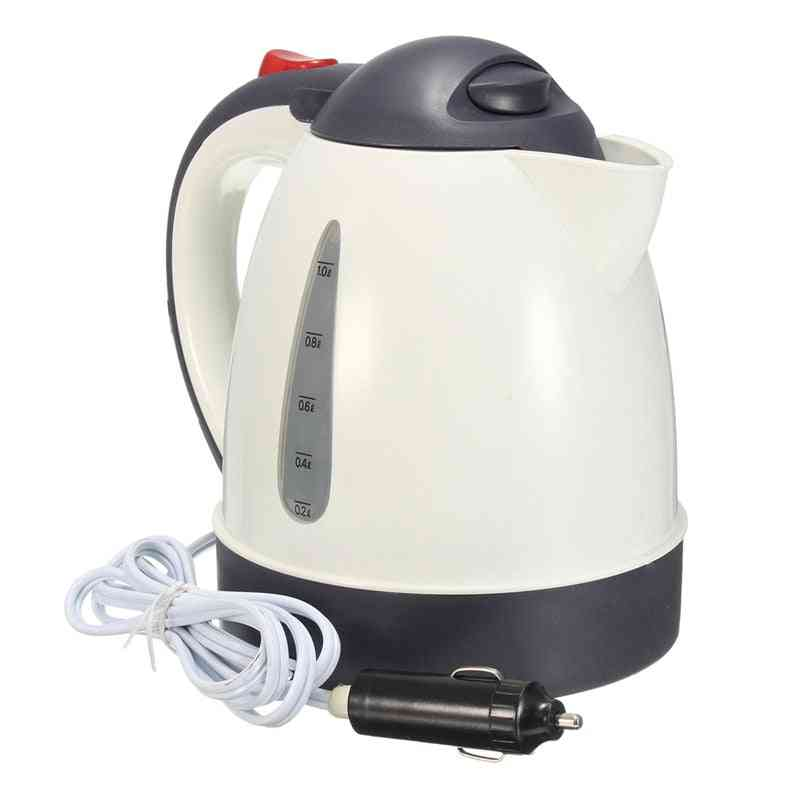 Car Kettle, Portable Water Heater Travel Auto For Tea / Coffee