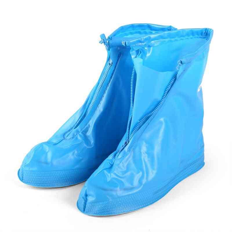 Reusable Waterproof Shoe Covers For Motorcycle/cycling/bike Boot Rainwear